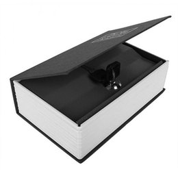 Wholesale Dictionary Secret Book Money Hidden Secret Security Safe Lock Cash Money Jewellery Locker Box