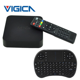 Wholesale Stock A5 - In stock i8 keyboard + MXQ S805 Android 4.4 Smart TV BOX Quad Core 1GB+8GB Cortex A5 1.5GHZ+Mali-450 WIFI movie Media Player