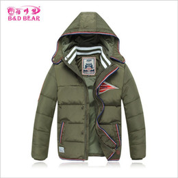 Wholesale Duck Down Jackets For Boys - Winter Thickened Children Outerwear Warm Windproof Hooded Down Coats Kids Clothes Duck Down Boys Jackets For 6-13T