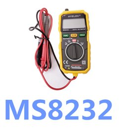 Wholesale Ac Dc Electrical - High Quality Non-Contact Digital LCD Multimeter DC AC Voltage Current Tester MS8232 Voltmeter Ammeter Multitester
