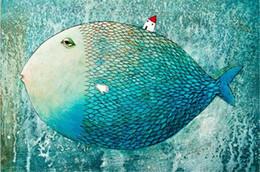 diy red girasoles Promotion Nouvelle Couture 5d DIY Diamant Peinture Pleine Aiguilles De Poissons Diamant Broderie Diamant Peinture Point De Croix Ou Personnalisé Personnalisé