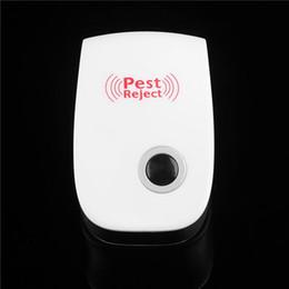 Pest rifiuti all'ingrosso online-I parassiti della blatta di repellente del mouse di repellente della zanzara ultrasonica del gatto elettronico all'ingrosso di versione migliorata all'ingrosso rifiutano con l'imballaggio al minuto