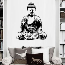 Wholesale Pictures Papers - Removable Art Modern Printed Buddha Painting Picture Decoracion Buddha Paintings Wall Canvas Piictures For Living Room