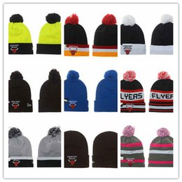 Wholesale Free Style Soccer - Wholesale 2017 new style basketball spring Autumn Winter Beanie Men Women Gorro Wool Knitted hats Bonnet Beanies Warm Cap free shipping