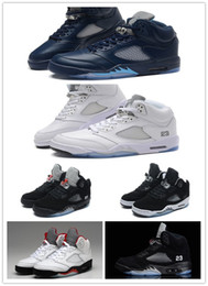 Wholesale Rivet Star - Air Retro 5 V Oreo Pro Stars Metallic Silver Black Toro Purple Grape Oregon Ducks Basketball Shoes Wholesale High Quality Version