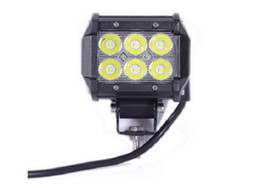 Wholesale 4wd led lighting - 18W LED Work Light Bar 4WD Flood Beam Offroad Driving Fog Lamp ATV SUV Protection Rate: IP67