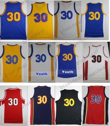 Wholesale Cheap Browning Shirts - Men Sportwear Shirt Yellow Basketball Jerseys Youth Curry Jersey Cheap High quality stephen curry shirt Embroidery Logos with player name