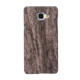 Wholesale Galaxy Note Wood - Croco Wood Vertical Wooden Snake Leather Hard PC Case For Galaxy Note 8 Note8 S8 Plus J510 J710 J120 J310 A710 Carbon Fiber For Moto G4 Plus