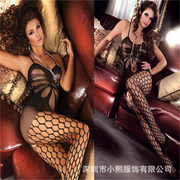 Wholesale Wholesale Animal Print Lingerie - Wholesale-High quality sexy lingerie fullbody sexy full slips for women intimates