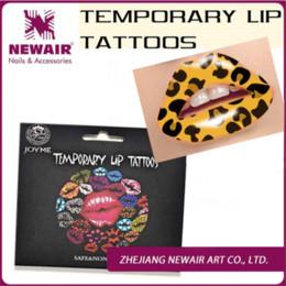 Wholesale Lip Tattoo Sticker New - Brand New Hot Sale Temporary Tattoo Women Men Body Stickers Water Transfer Lip Tattoo Waterproof for Festival Wholesale