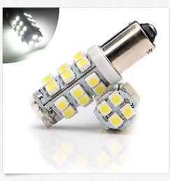 Wholesale Led Car Bulb Ba9s - 100PCS 12V DC Car LED Light BA9S T4W 1895 3528 1210 28 SMD Lamp LED Light Bulbs wholesale price