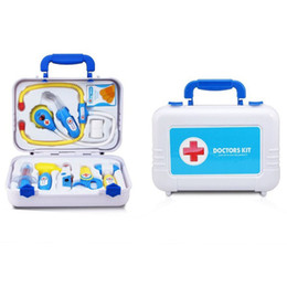 Wholesale Wholesale Doll Kits - 1 Set Fashion Doll Accessories Medical Kit Pets Toy for Baby Education Toys Barbies Intelligence toys