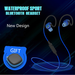 Wholesale Mobile Fone - Wholesale-2016 vikky PLEXTONE BX240 Earphone Bluetooth Headset Sport Bass In-Ear Wireless Cancel Noise fone de ouvido for Mobile Phone