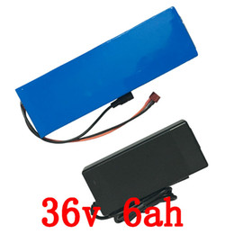 Wholesale Car Battery Electric Bicycle - Lithium battery car battery of 36V 6ah electric bicycle battery for electric bicycle+42V 2A charger