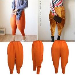 Wholesale Baggy Women Pants Wholesale - 3 Colors Fried Chicken Pants Women Haroon Harem Pants Lady Plus Size Baggy Pants Hip-Hop Capris Fashion Elastic Trousers CCA8185 100pcs