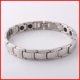 Wholesale wristband for balance - titanium balance magnet germanium energy bracelet power wristbands band cuffs for men women health jewelry 161131