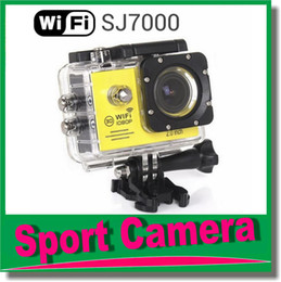 Wholesale Mini Dv Sports Cam - Sport camera SJ7000 WiFi 1080P Action Camera 1080P Full HD 2.0 LCD 30m Waterproof DV video Sport extreme mini cam recorder JBD-N3
