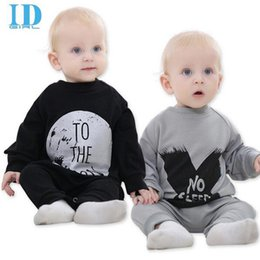 Wholesale Cotton Collapse - Spring Autumn Cotton Baby Boy Clothes Girl Baby Rompers Baby Clothes NO SLEEP Baby Clothing Harem Style Pants Collapse 2 Colour