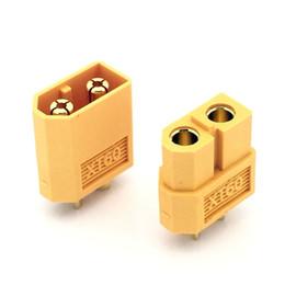Wholesale Rc Bullet Connectors - 10 Pair High Quality XT60 XT-60 XT 60 Plug Male Female Bullet Connectors Plugs For RC Lipo BatteryGSCP2400