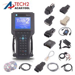 Wholesale Tech Scanner Reader - Gm Tech 2 Scanner Gm Diagnostic Tool High Performance Gm Tech2 6 Softwares with Free DHL Shipping without black box