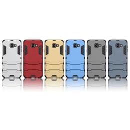 Баллистический жесткий футляр онлайн-Противоударный гибридный жесткий PC + TPU Case стенд броня баллистический для Samsung Galaxy A9 A710 A510 Xiaomi 5 M5 Mi5 5S PLUS Redmi 3 5 обложка кожи 5 шт.