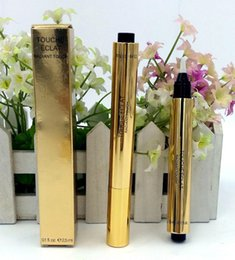 Wholesale Wholesale Pencil Boxes - Hot concealer makeup pencils TOUCHE ECLAT -RADIANT TOUCHE CONCEALER 2.5ML with retail box free ship
