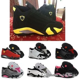 Wholesale Cheap Size 14 Basketball Shoes - Cheap authentic retro Air 14 womens basketball shoes online original top quality sneakers on sale US size 5.5-8.5 with box free shipping