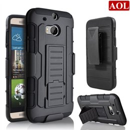 Wholesale Future Covers - For HTC One M10 M9 M8 Desire 510 626 Future Armor Impact Hybrid Hard Case Cover + Belt Clip Holster Kickstand Combo Rugged Shockproof