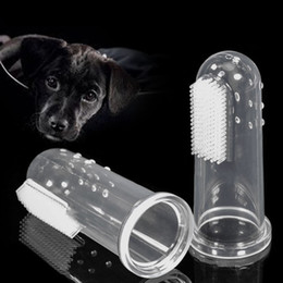 Wholesale Dental Care Toothbrush - 1.7*5.5Cm Dog Supplies Dog Finger Toothbrush Easy Teeth Cleaning For Dogs And Cats Safe Durable And Gentle Dental Care