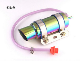 Wholesale Gy6 Exhaust - GY6 Motorcycle Scooter Modified Akrapovic yoshimura Muffler exhaust pipe RACING Exhaust Amazing Sound