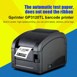 Wholesale Ticket Printers - Gpilot GP3120TL barcode printer thermal printer machine label clothing label supermarket small ticket printer