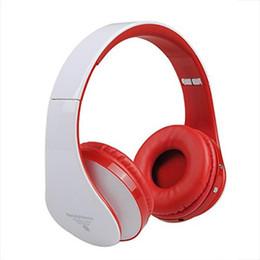 Atacado-Mãos Livres Bluetooth Sem Fio Headphones Suporte Cartão SD + FM Bests Hifi Estéreo Sem Fio Fones De Ouvido Fone De Ouvido Dobrável Para iphone de