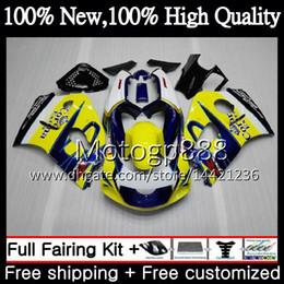 Wholesale 1998 Srad - Body For SUZUKI SRAD GSXR 600 750 96 GSXR750 96 97 98 99 00 20G815 GSX-R600 GSXR600 1996 1997 1998 1999 2000 Motorcycle Fairing Blue CORONA