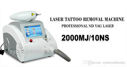 Wholesale pigmentation removal laser - 1064nm &532nm Q Switch Nd Yag Tattoo Removing Pigmentation Removal Laser Beauty Machine for Scar Acne Removal