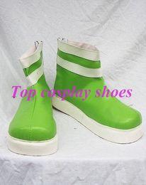 Wholesale Powerpuff Girls Buttercup - Wholesale-Powerpuff Girls Z Kaoru Matsubara Buttercup Cosplay Shoes #NC109 Halloween Christmas festival shoes boots
