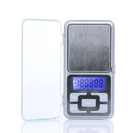 Wholesale Digital Scales Wholesale - New Arrive 500g 0.1g Mini Electronic Digital Pocket Scale Jewelry Weighing Balance Counting Function Blue LCD g tl oz ct