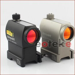 Wholesale Sight Riser - Black 20mm Rails Tactical Red Dot Illuminated Holographic Sight T-1 with Riser QD Mount ST-1