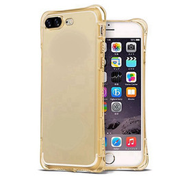 Wholesale Cell Phone Cases Bulk - Bulk Buy from China Shockproof TPU Protective Phone Cases Clear Cell Phone Case Back Cover for iphone7 7 Plus 6 6plus
