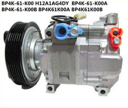 Wholesale Auto Air Condition Compressor - auto air conditioning compressor fit Mazda 3 1.3 1.6 H12A1AF4DW BP4K61K00A H12A1AG4DY
