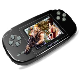 "Wholesale Pvp Console Inch - PVP Game Handheld Console 3.0"" TFT 256M RAM Portable Retro Player Classic 168 FC Games in 1 TV Out with USB Charger Xmas Gift for Children"