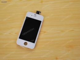 2019 lcd pour iphone 4s Nouveau LCD Display + Ecran Tactile Digitizer AssembléeRemplacementpour iPhone 4S Blanc lcd pour iphone 4s pas cher