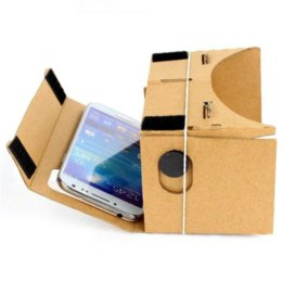 Wholesale Fx Videos - Cardboard Virtual Reality 3D Glasses VR Video Film For Android Phone DIY Hot Selling film fx
