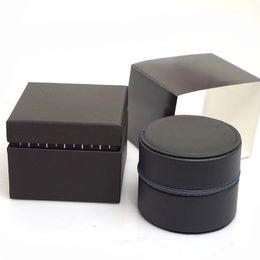 Canada Montres de luxe rondes en cuir Boîtes à cadeaux en cuir Boîte à montres Montres pour hommes boîte à montres montres box glitter2009 Offre