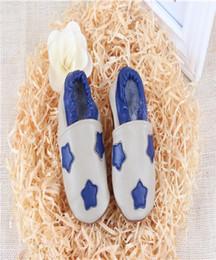 Wholesale Resistance Shoes - 2016 Autumn Baby Shoes Leather Soft Bottom Infant Toddler Shoes Animal Little Stars Motifs Elastic Kids Skid Resistance Prehobbler