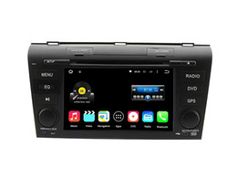 Wholesale Mazda Android Radio - 7'' Quad Core Android 5.1.1 Car DVD Stereo For Mazda 3 2007 2008 2009 With Radio GPS Map Video Multimedia Audio