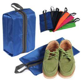 Wholesale Wall Pouch Storage - Portable Storage Bag Waterproof Nylon Travel Pouch Shoe Wash Bag Zipper Toiletry Makeup Sports Gym Organizer