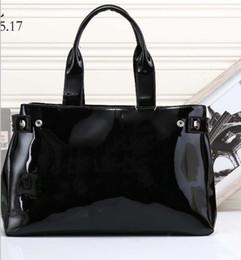 Wholesale Yellow Jelly Bags - Women's handbag AJ bag shoulder bag japanned leather patent leather oil skin PU jelly handbag brand bag isabel marant