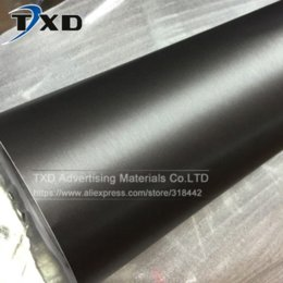 Wholesale Brushed Aluminum Wrap - Cay Styling Gray grey Metallic Brushed Aluminum Vinyl Metal vinyl car Wrap Film car sticker With Size:10 20 30 40 50 60x152CM