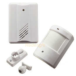 Wholesale Driveway Alarms - Wireless Driveway Garage Infrared Alert Secure System Motion Sensor Alarm Patrol doorbell Wireless Detector