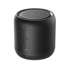 Canada vente chaude nouvelle Anker SoundCore mini, haut-parleur Bluetooth Super-Portable avec 15 heures de lecture, plage Bluetooth de 66 pieds, microphone de basse améliorée cheap enhanced mini usb Offre